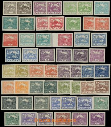 205178 -  Pof.1-26, 1h-1000h, sestava 55ks zn. včetně barevných odstí