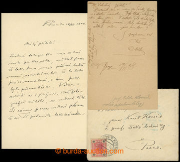 205215 - 1904-1910 selection of letter and correspondence card sent t