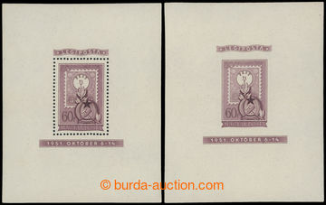 205308 - 1951 Mi.Bl.20, unissued souvenir sheets 80 years of Hungaria