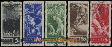 205815 - 1935 Mi.494-498, 20 let od vypuknutí 1. sv. války; kat. 100€
