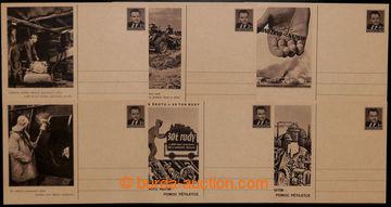 205969 - 1952 CDV107/1-6, Hutnictví - šrot - žně, kompletní série