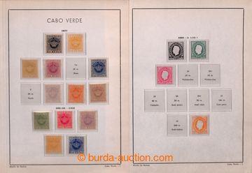 206084 - 1877-1962 [SBÍRKY]  stará sbírka na albových listech, od vyd