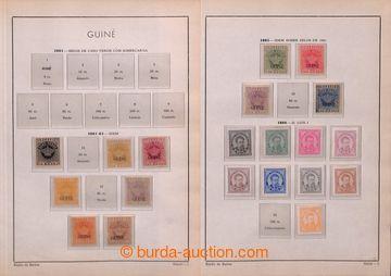 206088 - 1881-1962 [SBÍRKY]  stará sbírka na albových listech, od vyd