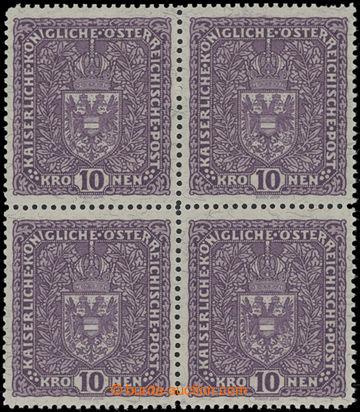 206159 -  VÝPLATNÍ / VELKÝ FORMÁT / Mi.211IIA, Znak 10K světle fialov