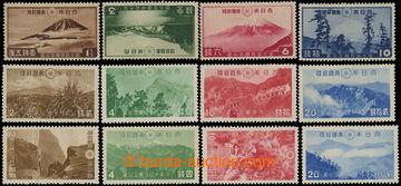 206464 - 1936-1941 NATIONAL PARKY   comp. of 3 complete sérií:  Mi.21