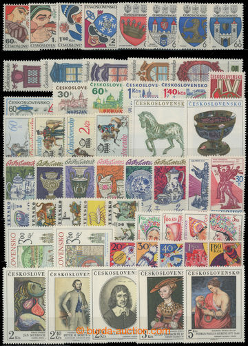 206465 - 1977 Pof.2232-2291, complete volume incl. miniature sheets a