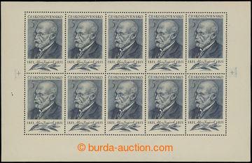 206481 - 1951 Pof.PL611, Jirásek 5Kčs šedomodrá; svěží, pěkná kvalita
