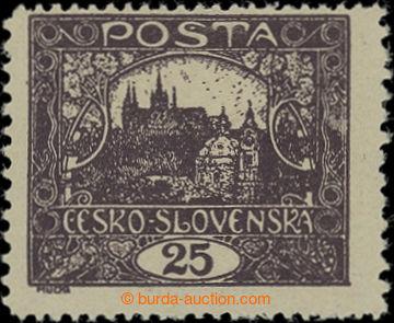 206556 -  Pof.11Fa IIp, 25h černofialová, II. typ příčky, ŘZ 13¾
