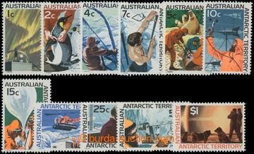 206561 - 1966-1968 SG.8-18, Motivy 1C - $1; kompletní série