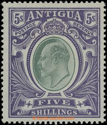 206562 - 1903-1907 SG.40, Edvard VII. 5Sh fialová; koncová hodnota, k
