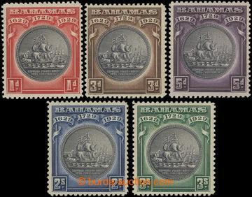 206569 - 1930 SG.126-130, Pečeť kolonie 1P - 3S; kompletní série, kat