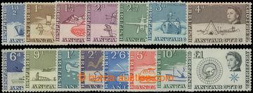 206591 - 1963 SG.1-15, Alžběta II. ½P - £1, série bez dodat