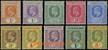 206612 - 1905-1909 SG.12, 15, 25-32, Edvard VII., 1Sh 1905 a 1907 s p