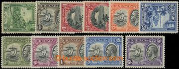 206622 - 1934-1936 SG.135-144, Jiří V. - Motivy; kompletní série, pou