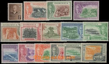 206628 - 1951 SG.120-134, Jiří VI. - Motivy ½P - $2.40; kompletn