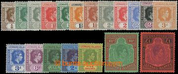 206649 - 1938-1951 SG.95-114, Jiří VI. ¼P - £1; kompletní s
