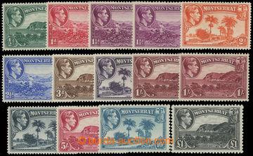 206654 - 1938-1948 SG.101-112, Jiří VI. - Motivy; kompletní série, ka