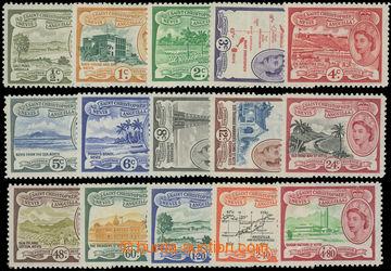 206664 - 1954-1963 SG.106a-118, Alžběta II. - Motivy; kompletní série
