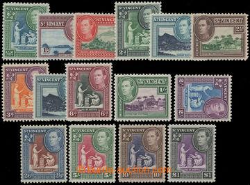 206674 - 1938-1947 SG.149-159, Jiří VI. - Motivy; kompletní série, ka