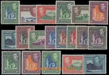 206675 - 1949-1952 SG.164-177, Jiří VI. - Motivy 1C - $4.80; kompletn