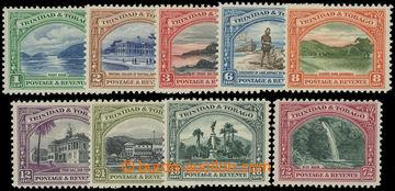 206679 - 1935-1937 SG.230-238, Krajinky 1C - 72C; kompletní série, ka