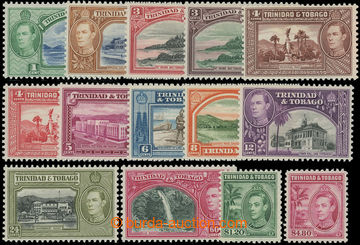206680 - 1938-1944 SG.246-256, Jiří VI. - Motivy; kompletní série, ka