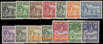 206684 - 1938-1945 SG.194-205, Jiří VI. - Motivy; kompletní série, ka