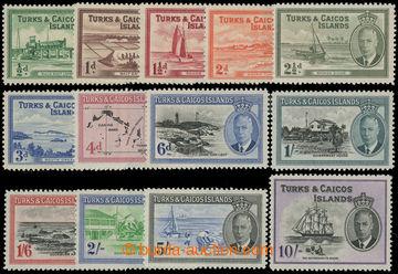 206686 - 1950 SG.221-233, Jiří VI. - motivy; kompletní série, kat. &#