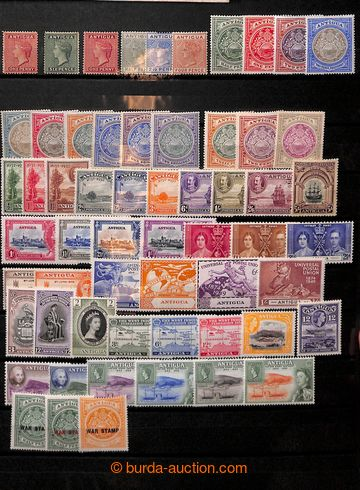 206737 - 1870-1965 [COLLECTIONS]  CARIBBEAN / interesting comp. on 7