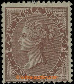 207098 - 1856 SG.39, Viktorie 1A hnědá, bez průsvitka; původní lep, k