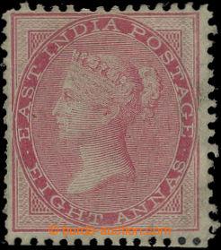 207100 - 1856 SG.49, Viktorie 8A světle karmínová, bez průsvitky (jen