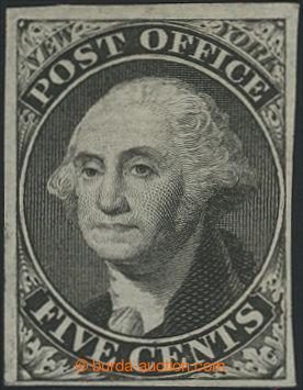 207285 - 1845 POŠTMISTROVSKÁ PROVIZORIA / NEW YORK Sc.9X1e, Washing