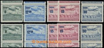 207447 - 1949 Pof.L29-L32 KH+KD, Přetisková provizoria, kompletní řad