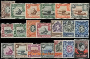 207531 - 1938 SG.131-150, Jiří VI. 1C-£1; kompletní a velmi oblí