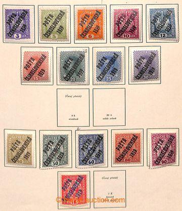 207535 - 1918-1939 [SBÍRKY]  sbírka především razítkovaných zn. na li
