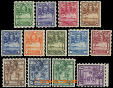 207544 - 1932 SG.155-167, Jiří V. - Motivy ½P-£1; kompletní
