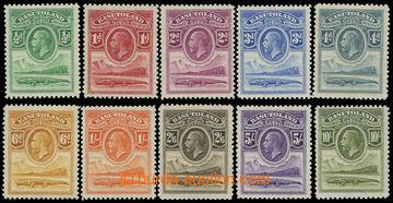 207546 - 1933 SG.1-10, Jiří V. Nilský krokodýl 1/2P-10Sh; svěží, kat.