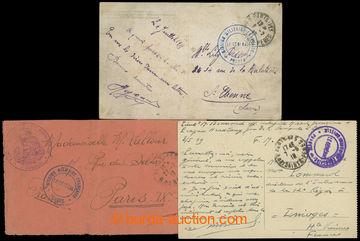 207573 - 1918-1919 FRANCIE / MISSION MILITARIE FRANCAISE PRAGUE/ LA G