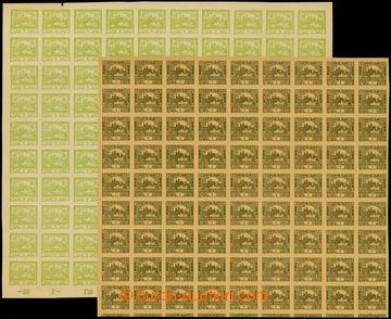 207642 -  ZT  hodnoty 1h hnědá, 90-blok s počítadly (chybí poslední s