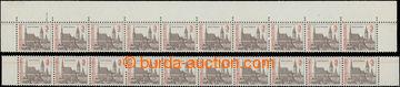 207727 - 1992 Pof.3024VV, Český Krumlov 3Kčs, sestava dvou krajových