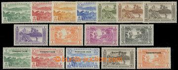 207873 - 1957 SG.F96-F105 a FD107-FD111, 2 kompletní série - Krajinky