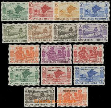 207874 - 1953 SG.F81-F91 a FD92-FD96, 2 kompletní série - Krajinky 5C
