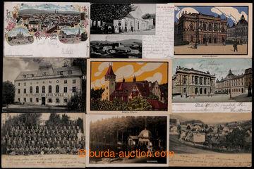 208139 - 1890-1930 LIBEREC + STARÝ HARCOV + ROKYTNICE NAD JIZEROU  se