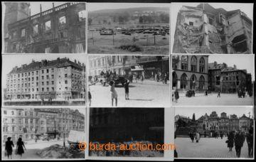 208140 - 1945 PRAHA - KVĚTNOVÉ POVSTÁNÍ  sestava 21ks fotopohledn