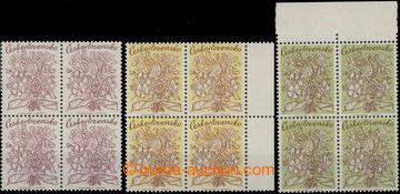 208163 - 1970 SVOLINSKÝ K. - Kytice, návrh na poštovní známku, tiskov