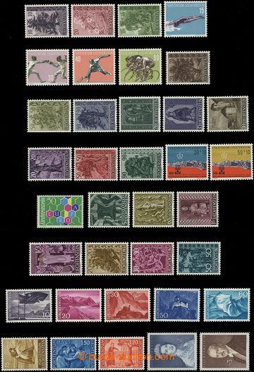 208183 - 1955-1960 sestava vybraných kompletních sérií na 3 kartách A