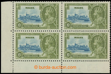 208211 - 1935 SG.212+212a, Jubilee George V. 6P, lower left corner bl