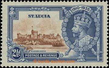 208222 - 1935 SG.111g, Jubilejní Jiří V. 2½P s DV - DOT TO LEFT