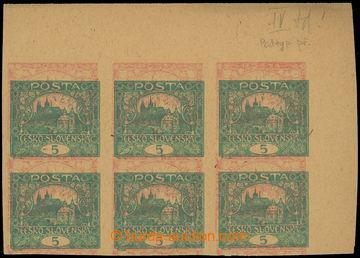 208246 -  ZT  hodnoty 5h modrozelená, pravý horní rohový 6-blok, TD 4