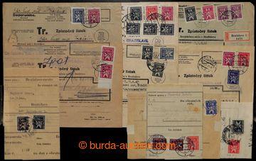 208271 - 1946-1947 [SBÍRKY] sestava 14ks celých soudních obsílek, vše